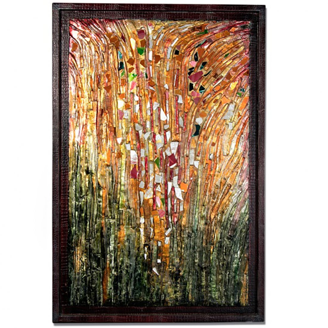 Huge Mosaic Stained Glass Modern Wall Mounted Art Work