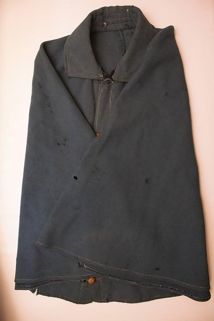 Rare Original Civil War Great Coat / Cape