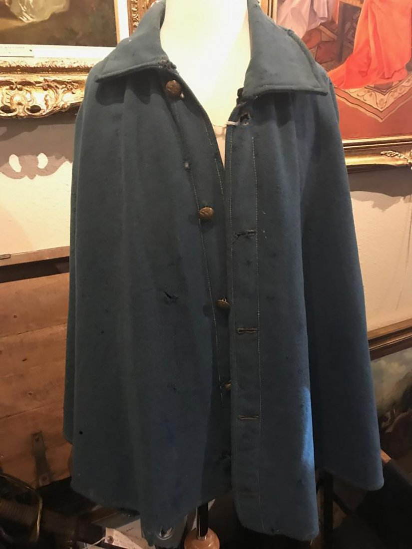 Rare Original Civil War Great Coat / Cape - 3