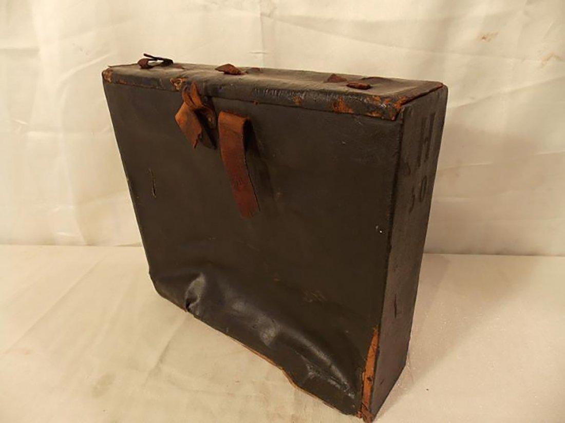 Rare Antique Civil War Infantry Leather Backpack - 2