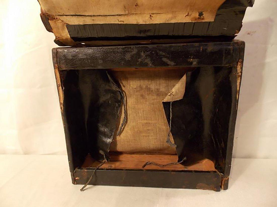Rare Antique Civil War Infantry Leather Backpack - 3