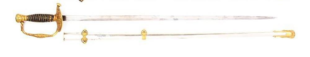 Civil War Model 1860 Staff & Field Officer's Sword