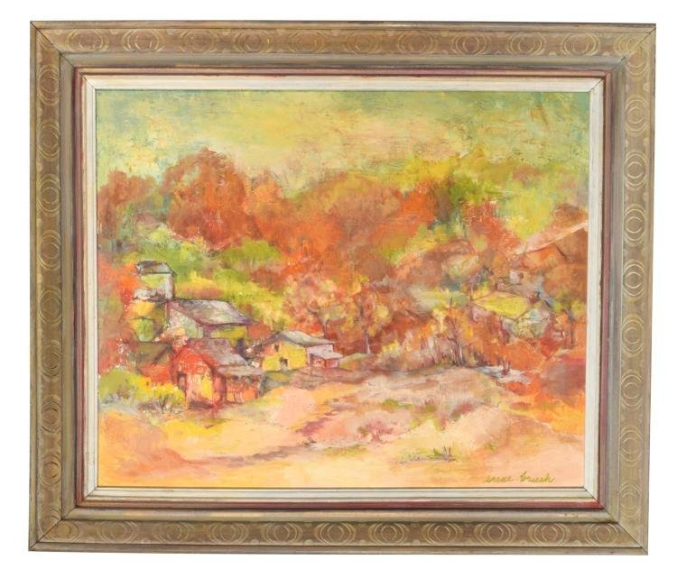"Original Oil Painting by Irene Brush | ""October Hillls"""