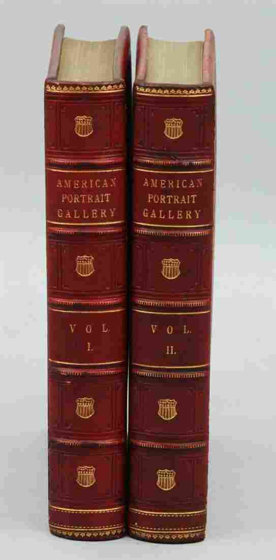 19th C. 2 Vol. Books Owned by Author Tom Clancy