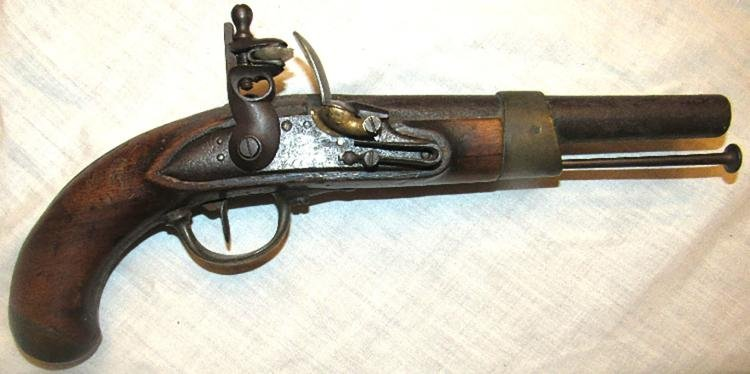 Antique French Revolutionary War Flintlock Pistol