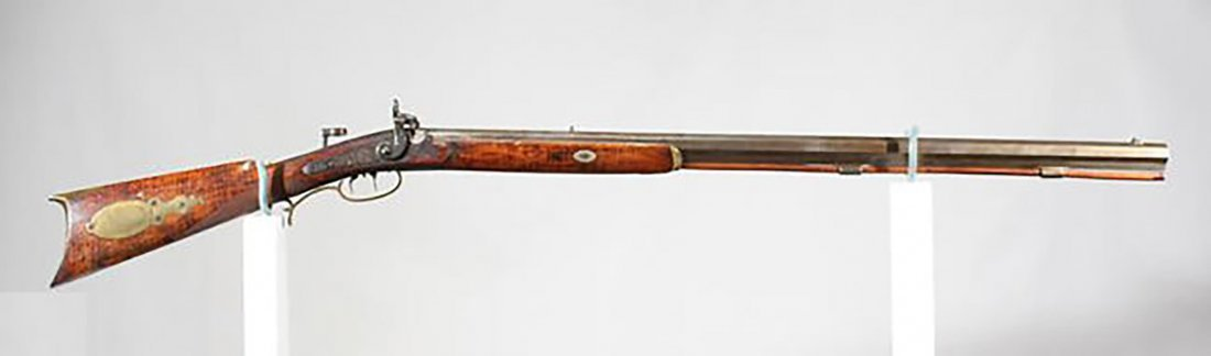 19th Century Half Stock Golcher .50 Cal. Kentucky Gun