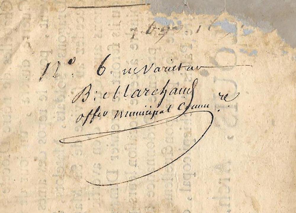 1691 French Broadside Signed by Louis d'Anglure Bourlem - 3