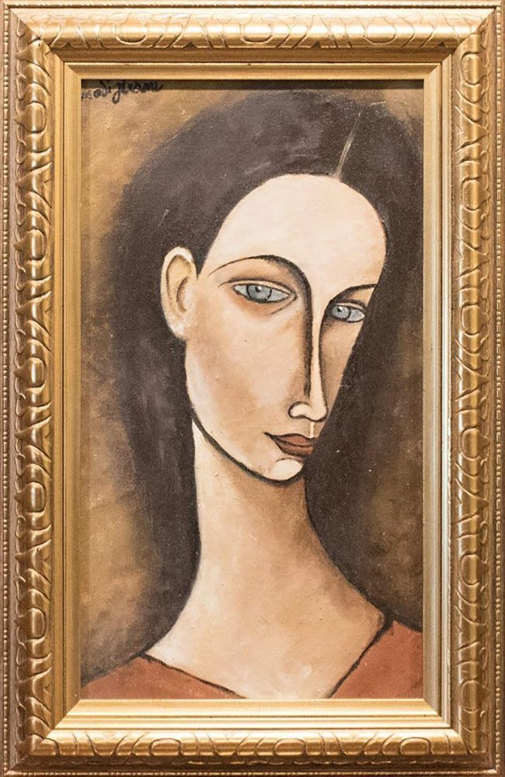 "Titled ""Portrait of Chana Orloff"" After Amedeo"