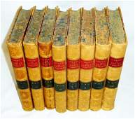 """""""The Library of Choice Literature"""" 1881 8 Vols."""