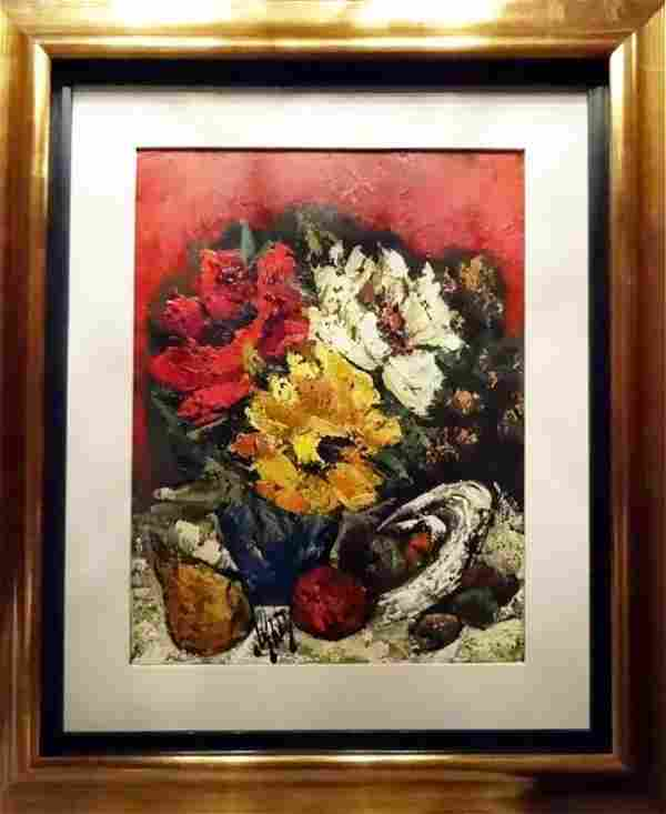 Floral Still Life Oil Painting by Rena Ahty