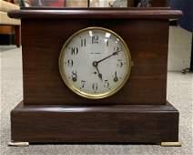 Antique Seth Thomas Mahogany Pendulum Mantel Clock,