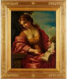 Italian Painting, Giovanni Francesco, THE CUMAEAN SYBIL