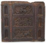 15th / Early 16th c. Italian Hand Carved Wood Panel