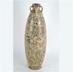 Large Early Antique Chinese Marble Vase
