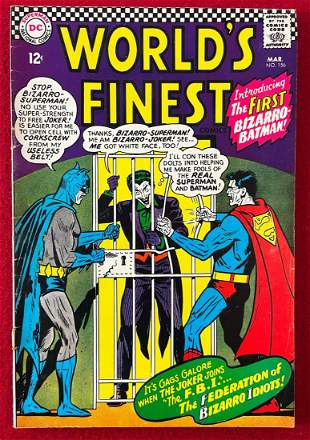 World's Finest Comics #156 (1966) - DC Comic Book