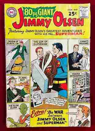 Superman's Pal Jimmy Olsen 80 Page Giant Comic Book #2