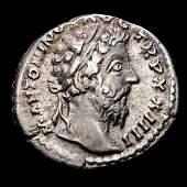 Roman Empire. Marcus Aurelius (AD 161-180). AR Denarius
