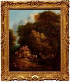 Thomas Gainsborough Landscape Oil Painting