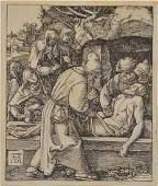 THE DEPOSITION, from Small Passion After Albrecht Dürer