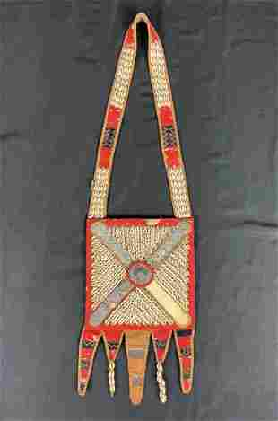 Vintage Yoruba Babalawo Divination Shield/Apron