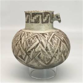 Native American Anasazi Tularosa Pottery Jar