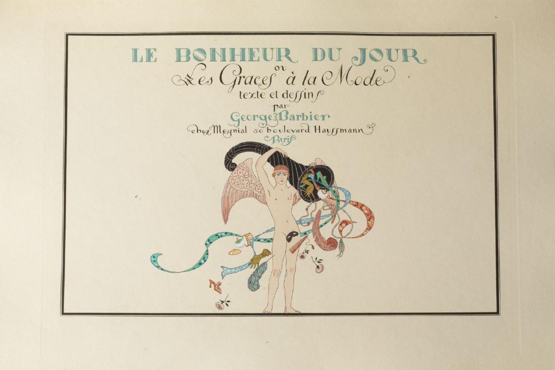 Georges BARBIER (1882-1932) - Le bonheur du jour ou Les