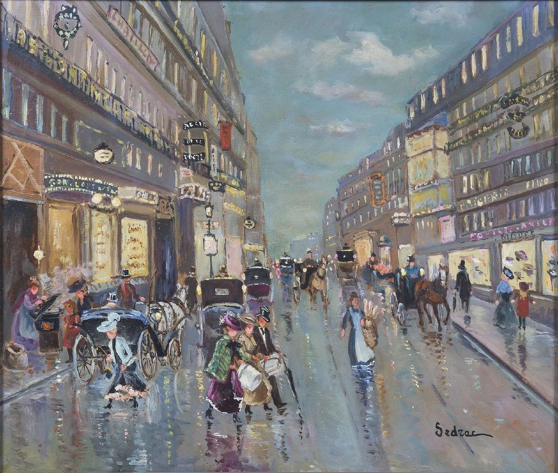 Serge SEDRAC (1878-1974) - Paris de la belle époque - H