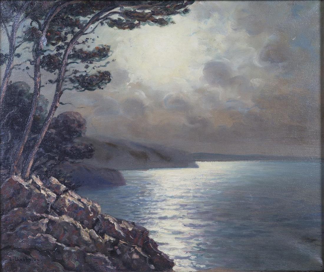 Arsène CHABANIAN (1864-1949) HST SBG, La côte au clair