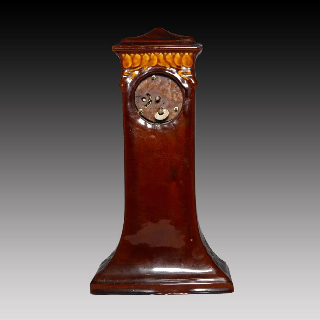 Doulton Kingsware Night Watchman Case Clock - 3