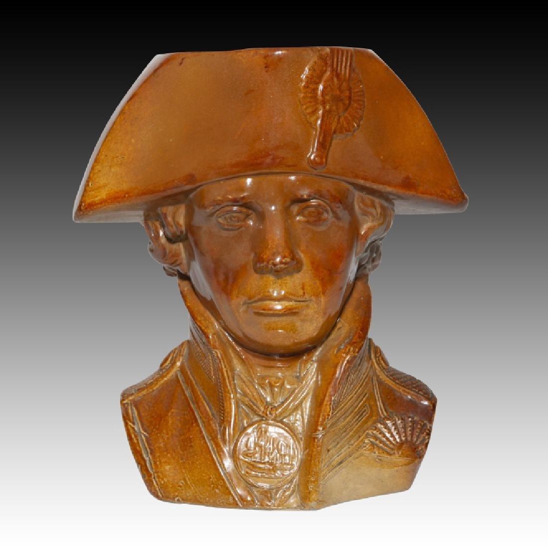 Doulton Watts Lord Nelson Stoneware Jug