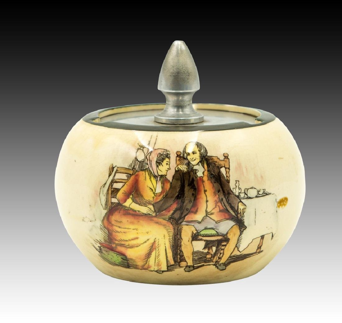 3 Royal Doulton Seriesware Tobacco Jars - 5