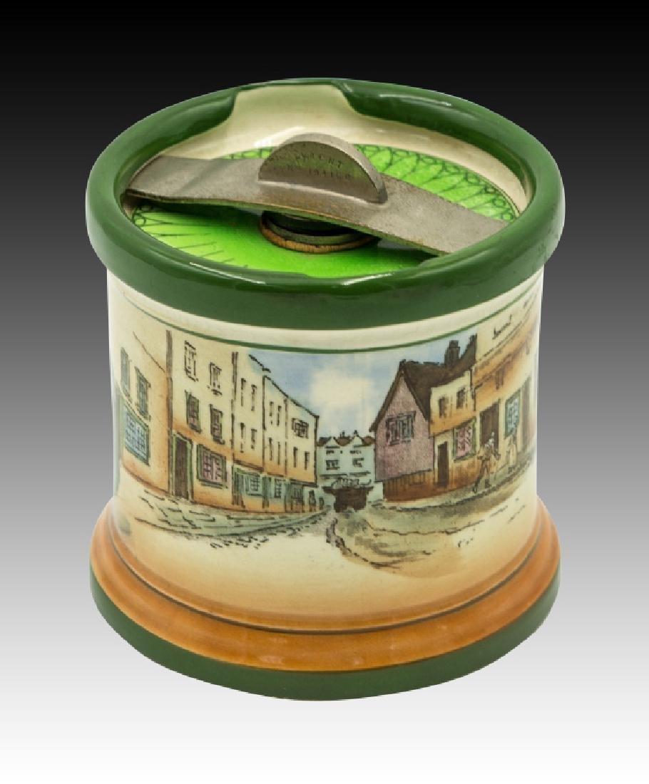 Royal Doulton Dickensware  Dunhill Tobacco Jar