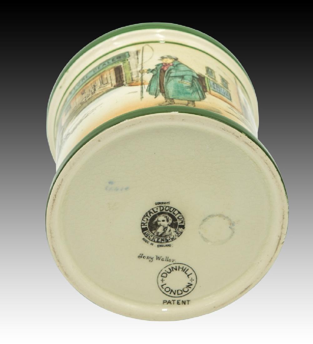 Royal Doulton Dickensware  Dunhill Tobacco Jar - 5
