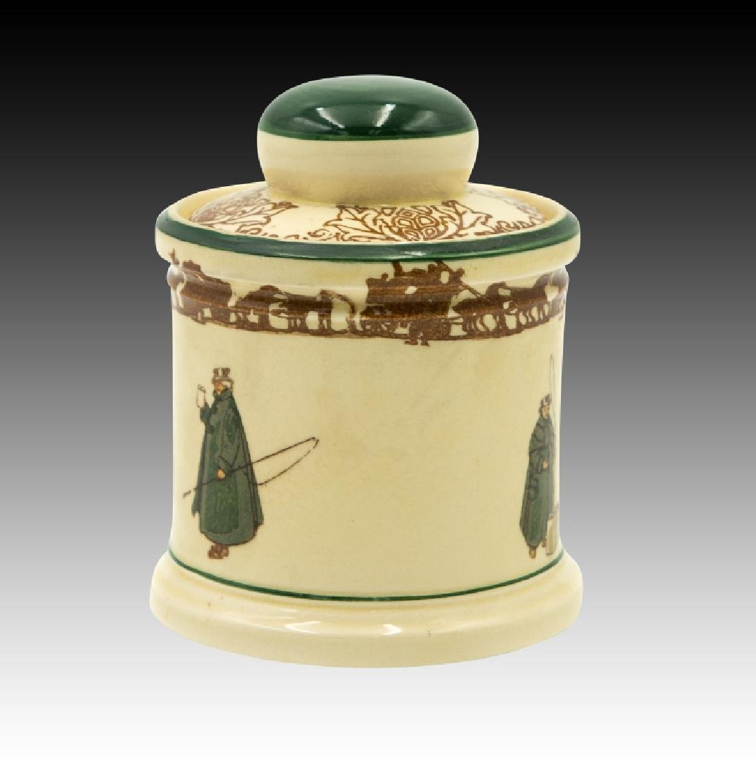 Royal Doulton Coachman Lidded Tobacco Jar - 2