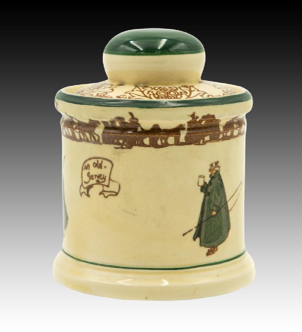 Royal Doulton Coachman Lidded Tobacco Jar - 3