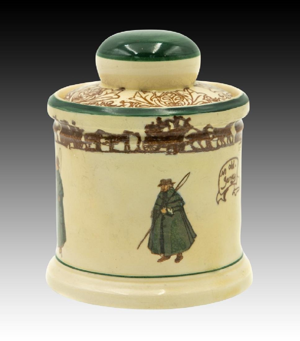 Royal Doulton Coachman Lidded Tobacco Jar - 4