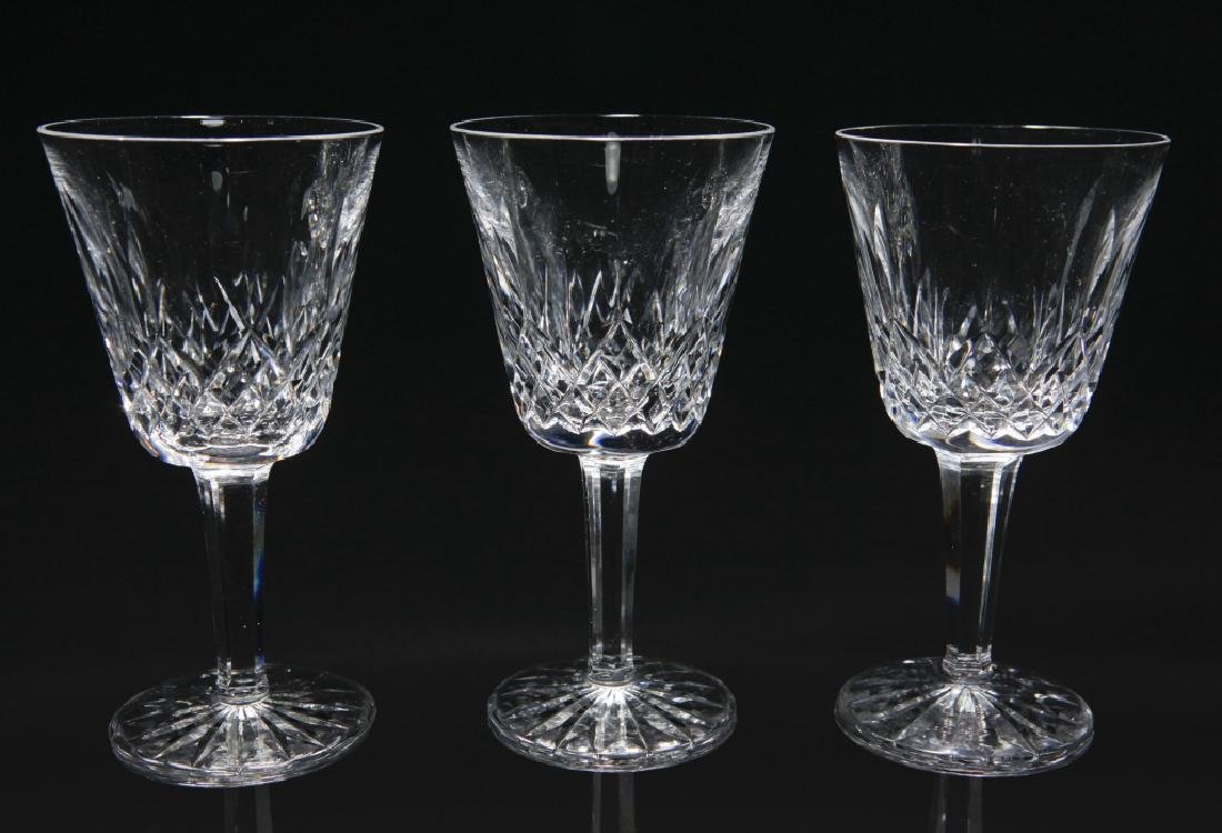 Set of 12 Waterford Lismore Wine Glasses - 2