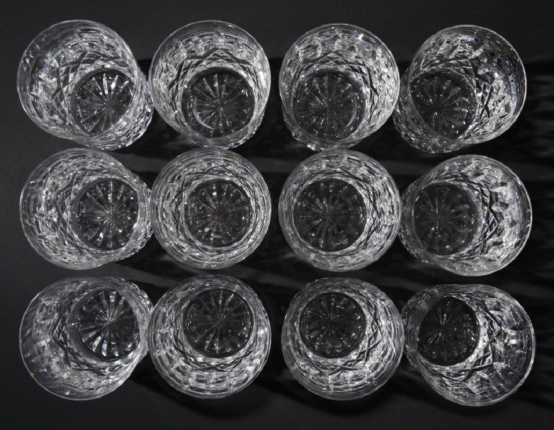 Set of 12 Waterford Lismore Old Fashion Glasses - 3