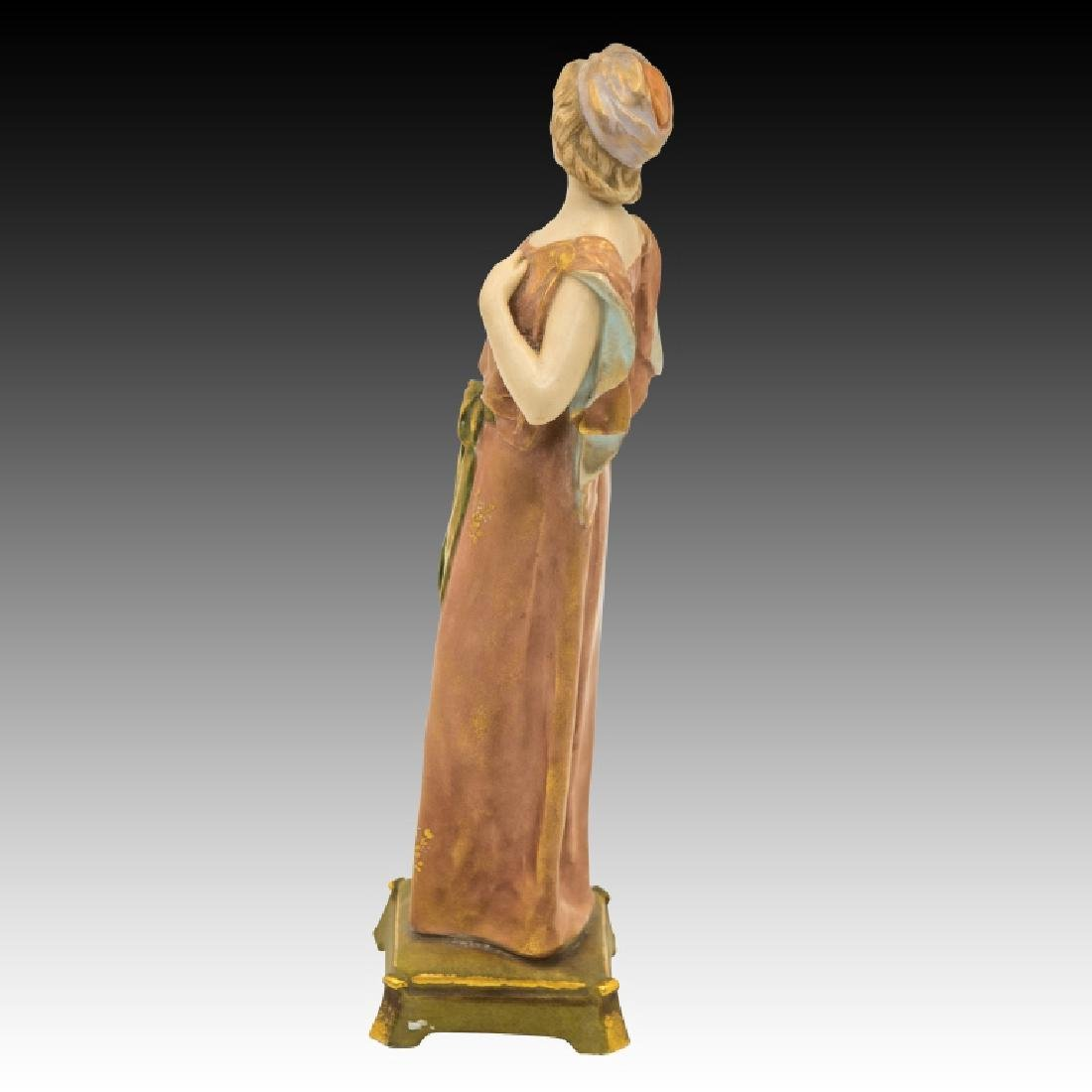 2 Pastel Figurines Man and Woman - 4