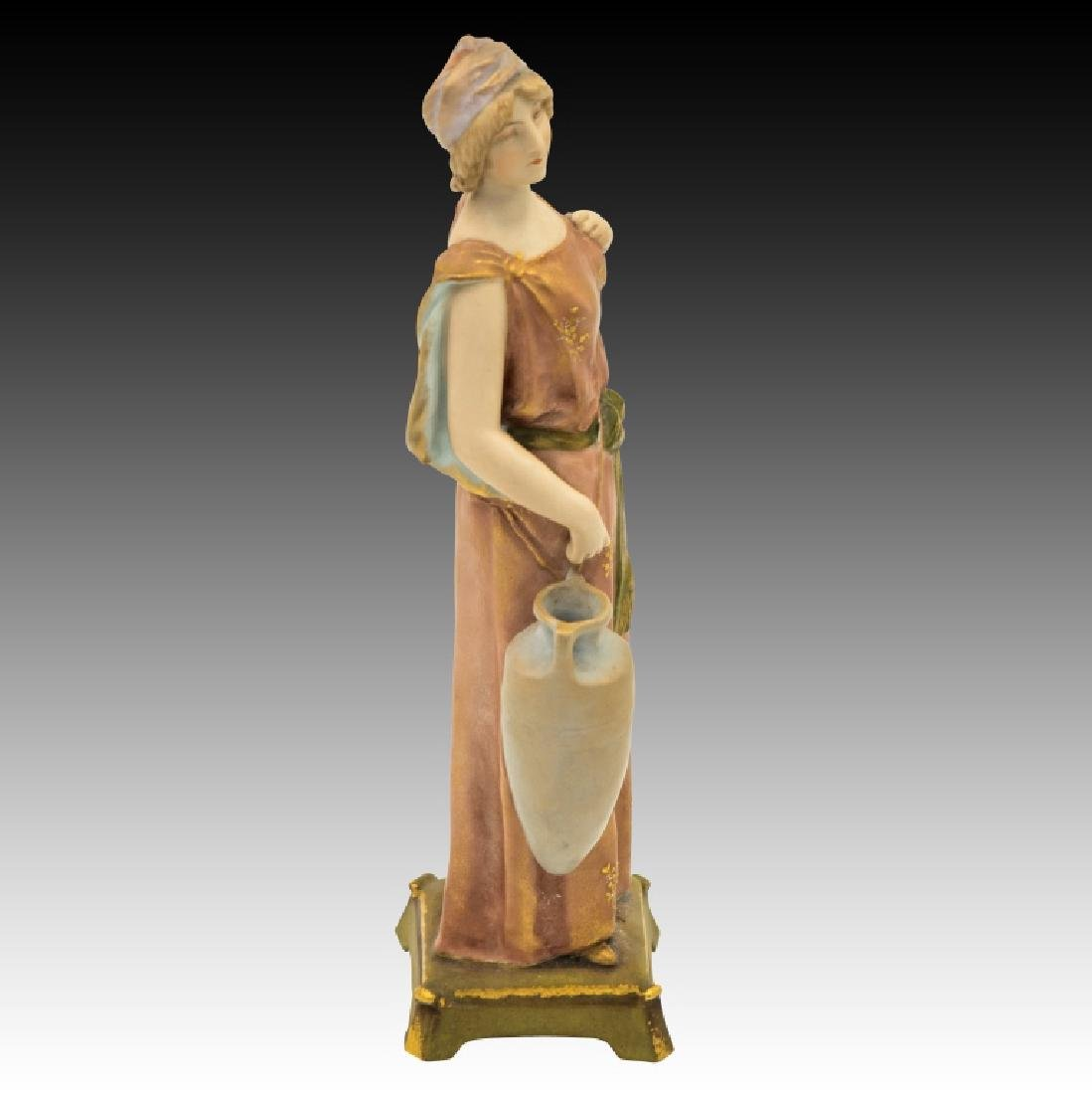 2 Pastel Figurines Man and Woman - 6
