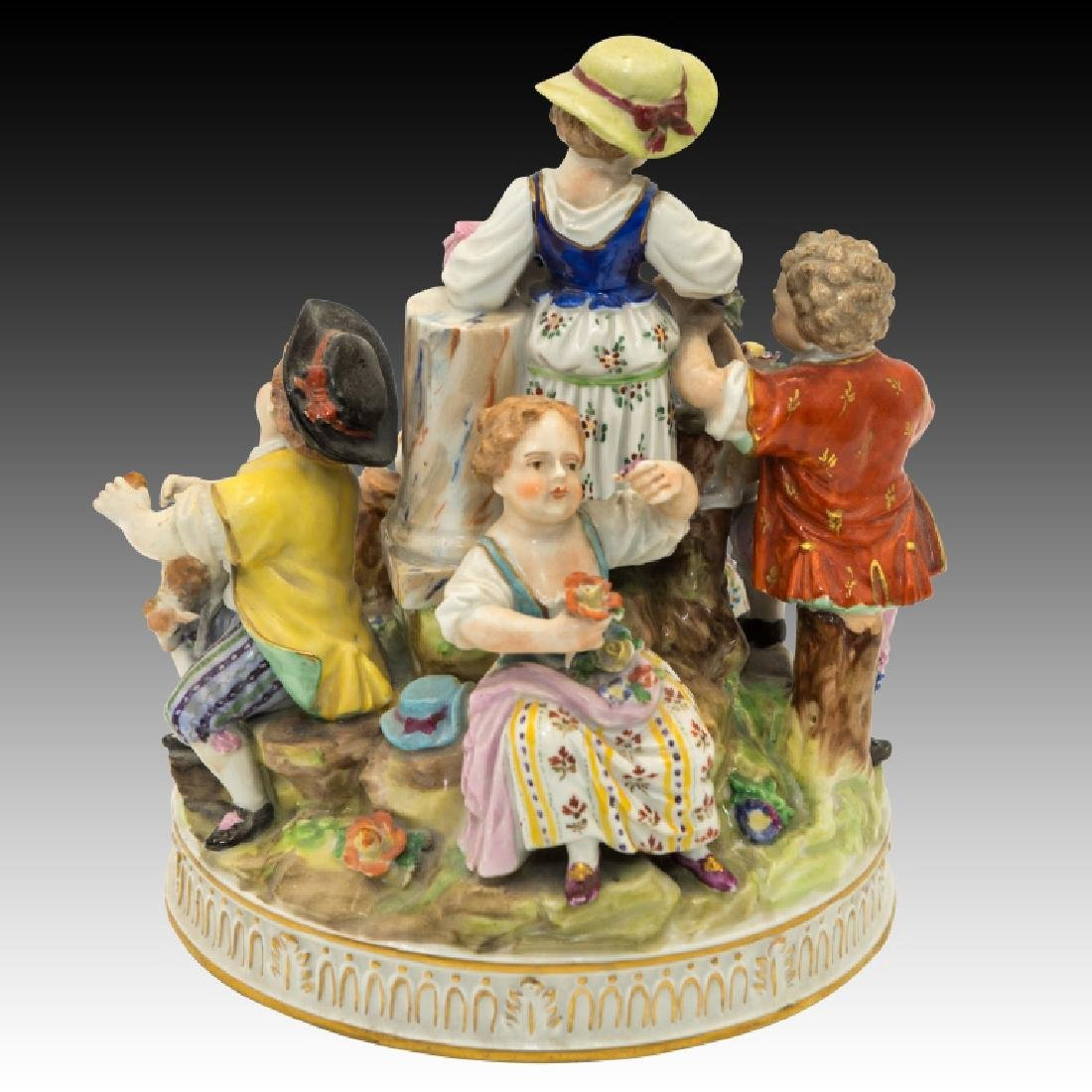 Dresden Figurine Group of  5 Children - 3