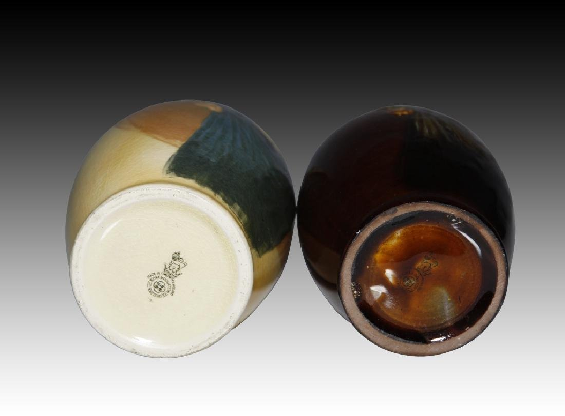2 Doulton Flasks Alchemist Kingsware & Queensware - 3