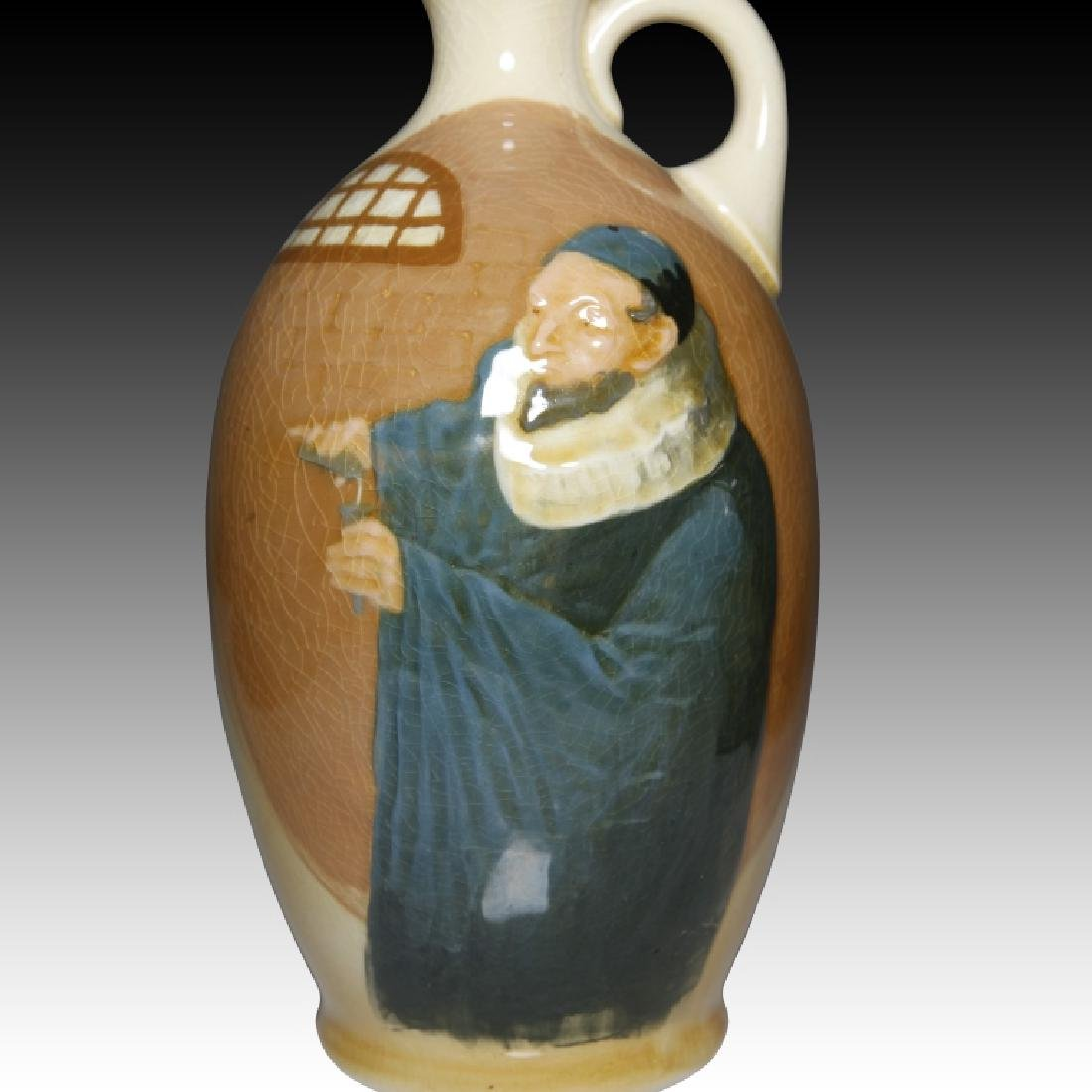 2 Doulton Flasks Alchemist Kingsware & Queensware - 4