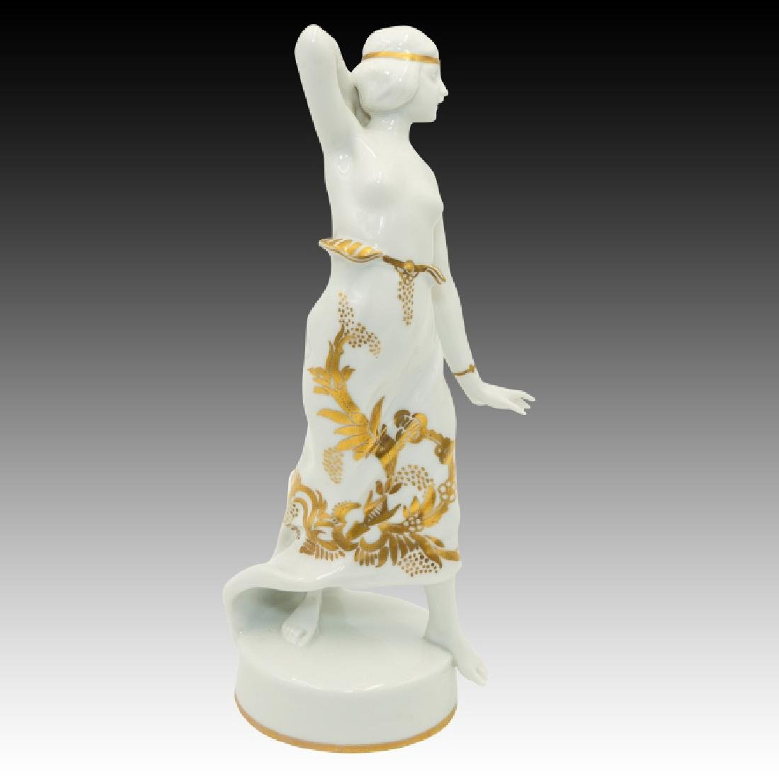 Rosenthal Semi Nude Girl Dancer