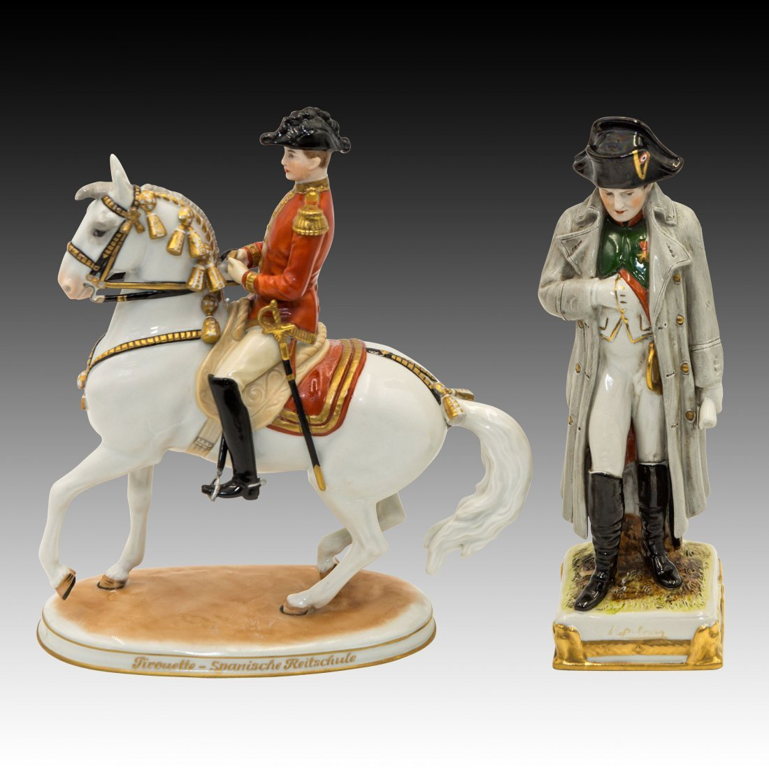 2 Figurines Napoleon and Ticouette