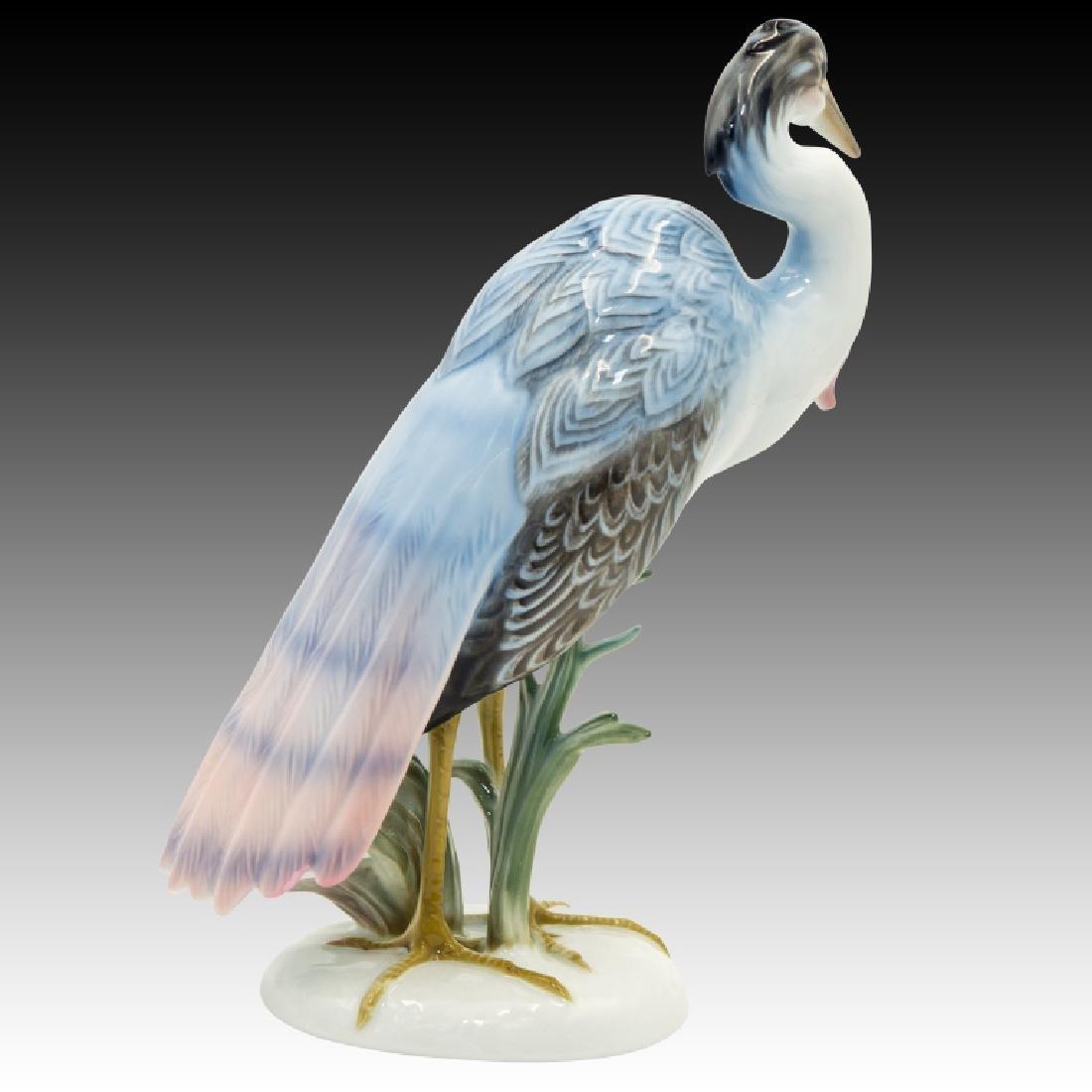 Rosenthal Large Heron Figurine - 3