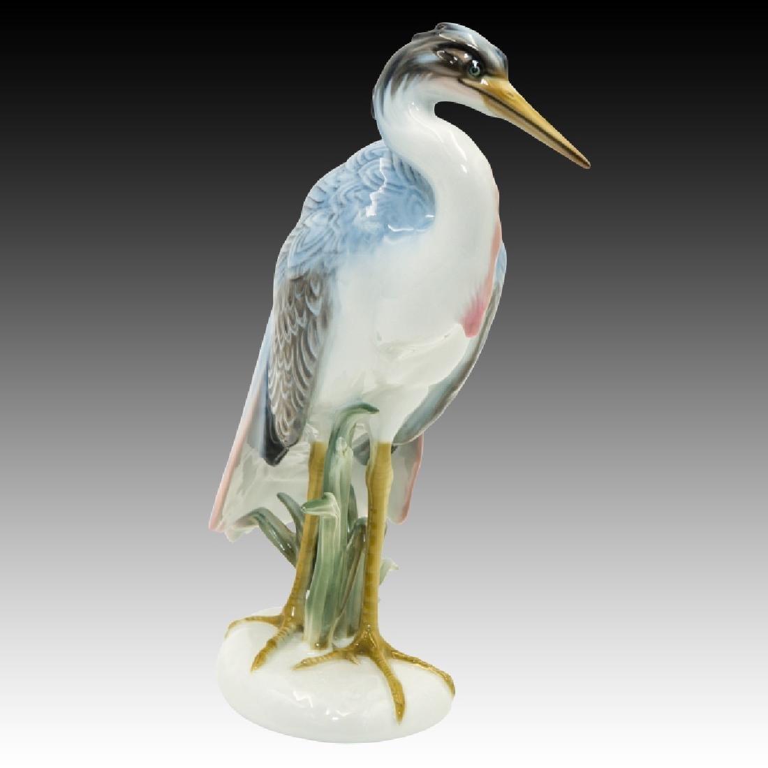 Rosenthal Large Heron Figurine - 4