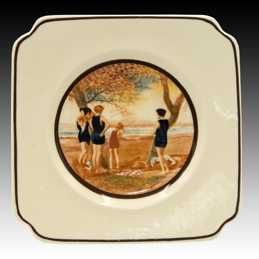 Royal Doulton Sandwich Set Surfing Design - 9