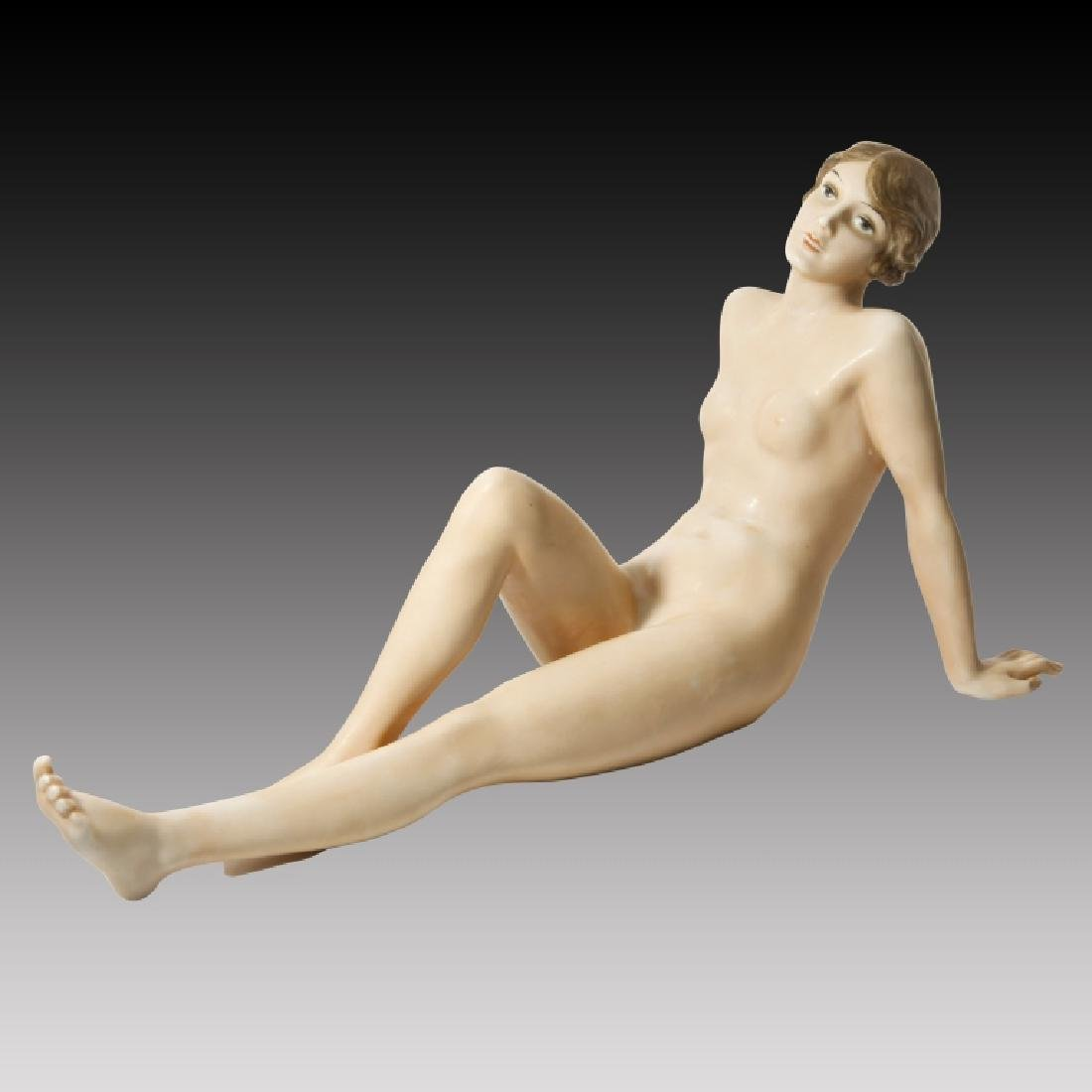 Rosenthal Reclining Nude Woman