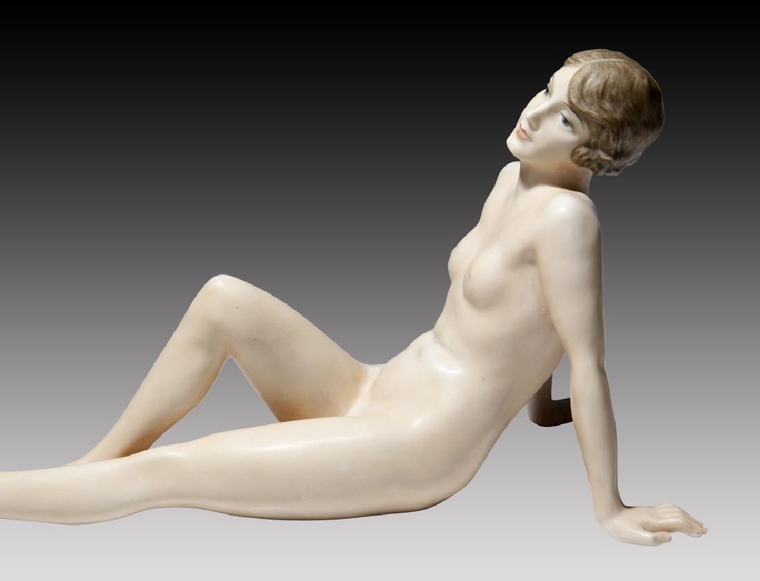 Rosenthal Reclining Nude Woman - 5